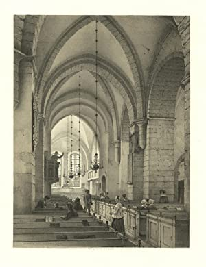 Eglise de l'ancien couvent de Wreta, en: Billmark Carl Johan