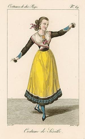 Costume de Séville: Lanté Louis Marie