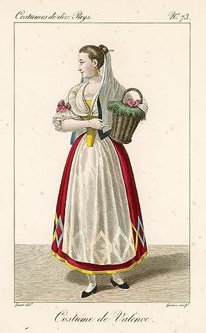 Costume de Valence: Lanté Louis Marie