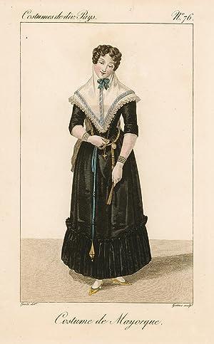 Costume de Mayorque: Lanté Louis Marie