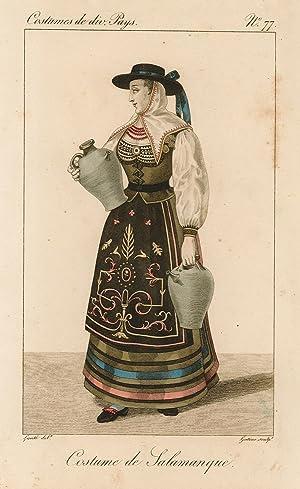 Costume de Salamanque: Lanté Louis Marie
