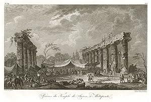 Ruines du Temple de Junon, à Metaponte: Saint - Non