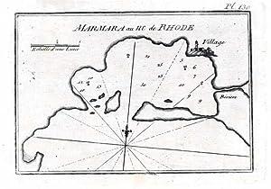 Marmara au ne de Rhode: Roux Joseph (1725-1793)