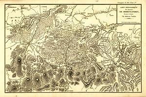 Carte topographique des environs de Hohenlinden: Tardieu Ambroise dis. & inc