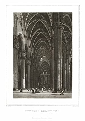 Interno del Duomo: Cherbuin inc. -