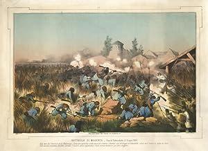Battaglia di Magenta - Presa di Robbecchetto (3 Giugno 1859): Vignolo L. dis. e lit. & Antonio ...
