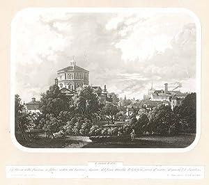 La chiesa della Passione in Milano veduta: Cherbuin L. dis.