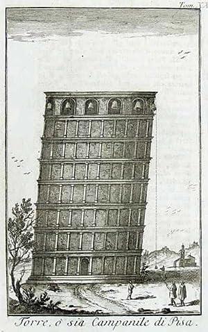 Torre, o sia Campanile di Pisa.: Salmon