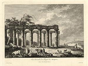 Vue latèrale du Temple de Metaponte /: Saint - Non