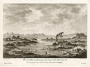 Vue des Marais formés par les Eaux: Saint - Non