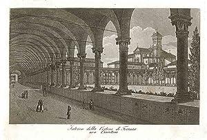 Interno della Certosa di Ferrara: Gandini Francesco