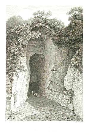 Grotto of Posilipo near Naples: Hakewill James