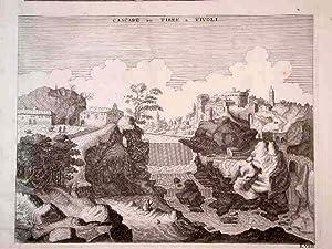 Cascade du Tibre a Tivoli: Mortier Pierre
