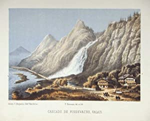 Cascade de Pissvache: Baumann dis & lit.