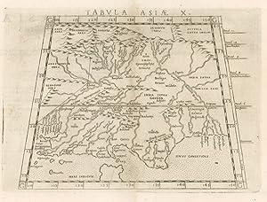 Tabula Asiae X: Ruscelli Girolamo (1504-1506)