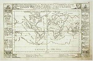 Carta Hydrographica oder Algemeine Welt und .: Stridbeck Iohann Iunior