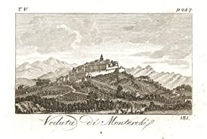 Veduta di Monterchi: Verico