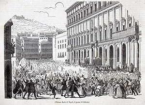 Palazzo Reale di Napoli, il giorno 11: ignoto