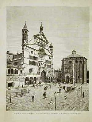 Il Duomo di Cremona, col Torrazzo e: Matania dis. -