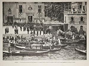 Venezia / I funerali del pittore Giacomo: anonimo