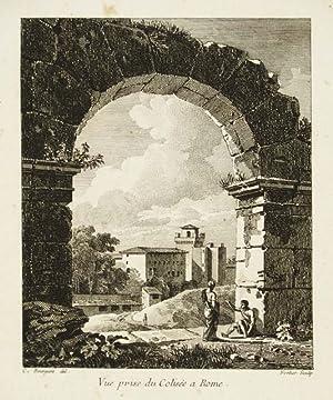 Vue prise du Colisèe a Rome: Bourgeois Constant dis.