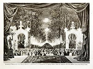 Le feste di Venezia alle Loro Maestà: Stella G. dis.