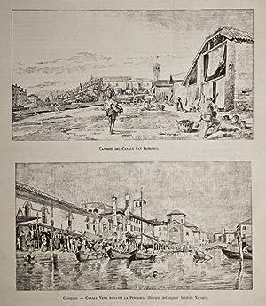 Chioggia / Cantieri del Canale San Domenico: Naccari Aristide dis.