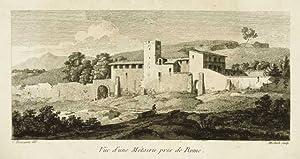Vue d'une Métairie près de Rome: Bourgeois Constant dis.