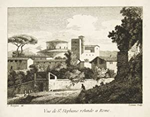 Vue de St. Stephano rotundo a Rome: Bourgeois Constant dis.