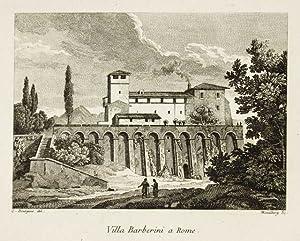 Villa Barberini a Rome: Bourgeois Constant dis.