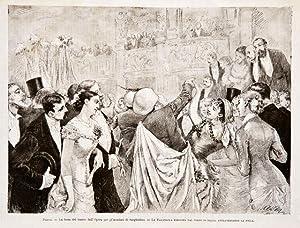 Parigi / La festa del teatro dell'Opera: anonimo