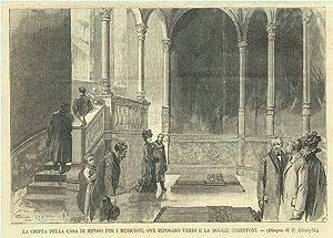 La cripta della Casa di riposo per: Linzaghi C. dis.