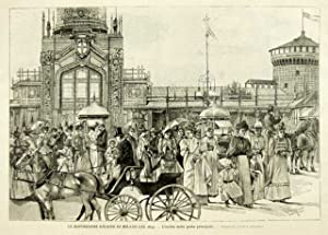 Le esposizioni riunite di Milano del 1894: Longanesi G.