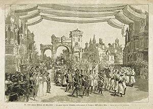 Il Cid alla Scala di Milano -: Bonamore A. dis.