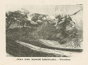 Cima del Monte Disgrazia: Quadrio Emilio edit.