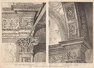 Venezia - I ristauri della chiesa da: anonimo