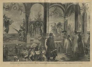 La cripta di Verdi nella Casa dei: Linzaghi C. dis.