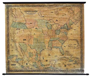 Map of the United States of America,: Colton Joseph Hutchins