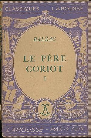 Le pere goriot I: Balzac