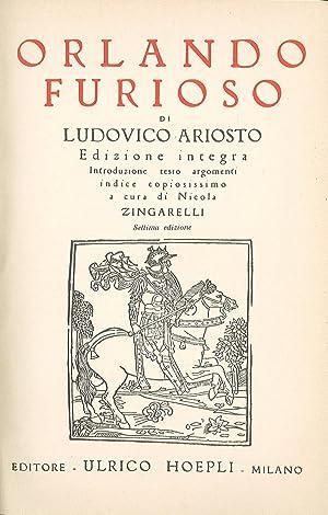 Orlando Furioso: Ariosto Ludovico
