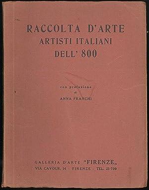 Raccolta d'arte Artisti italiani dell'800: Galleria d'Arte Firenze