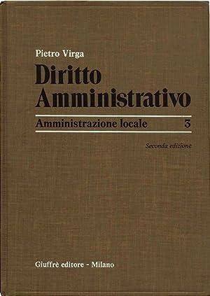 Diritto Amministrativo: Virga Pietro