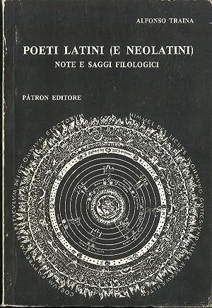 Poeti latini (e neolatini) - Note e: Traina Alfonso