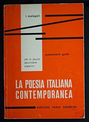 La poesia italiana contemporanea: Malagoli