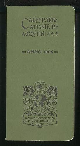 Calendario 1906.Calendario Atlante Agostini Abebooks