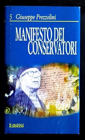 Manifesto dei conservatori: Prezzolini Giuseppe