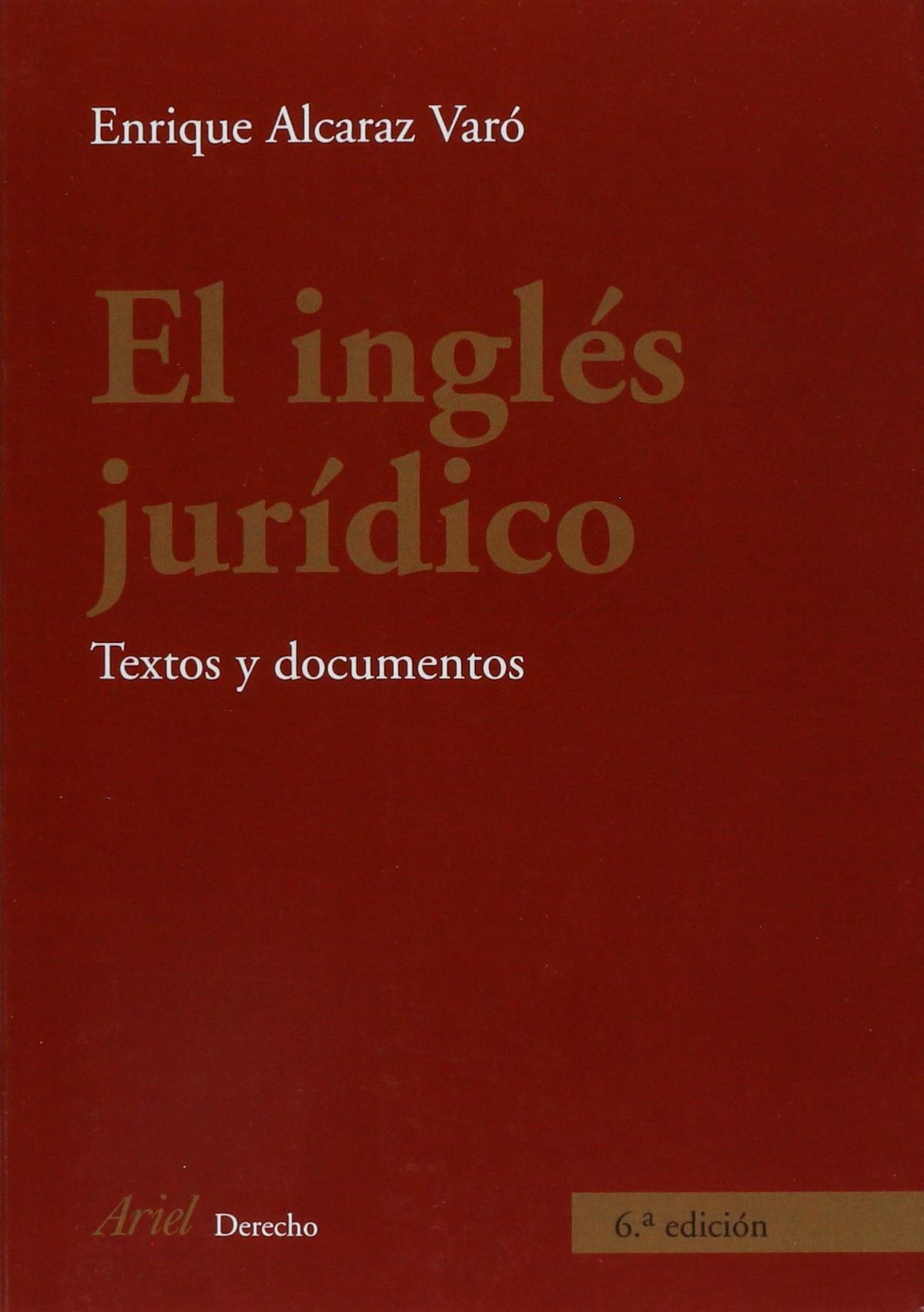 El inglés jurídico - Enrique Alcaraz