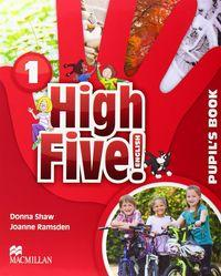 High five! english 1 pupils book pack: Vv.Aa.