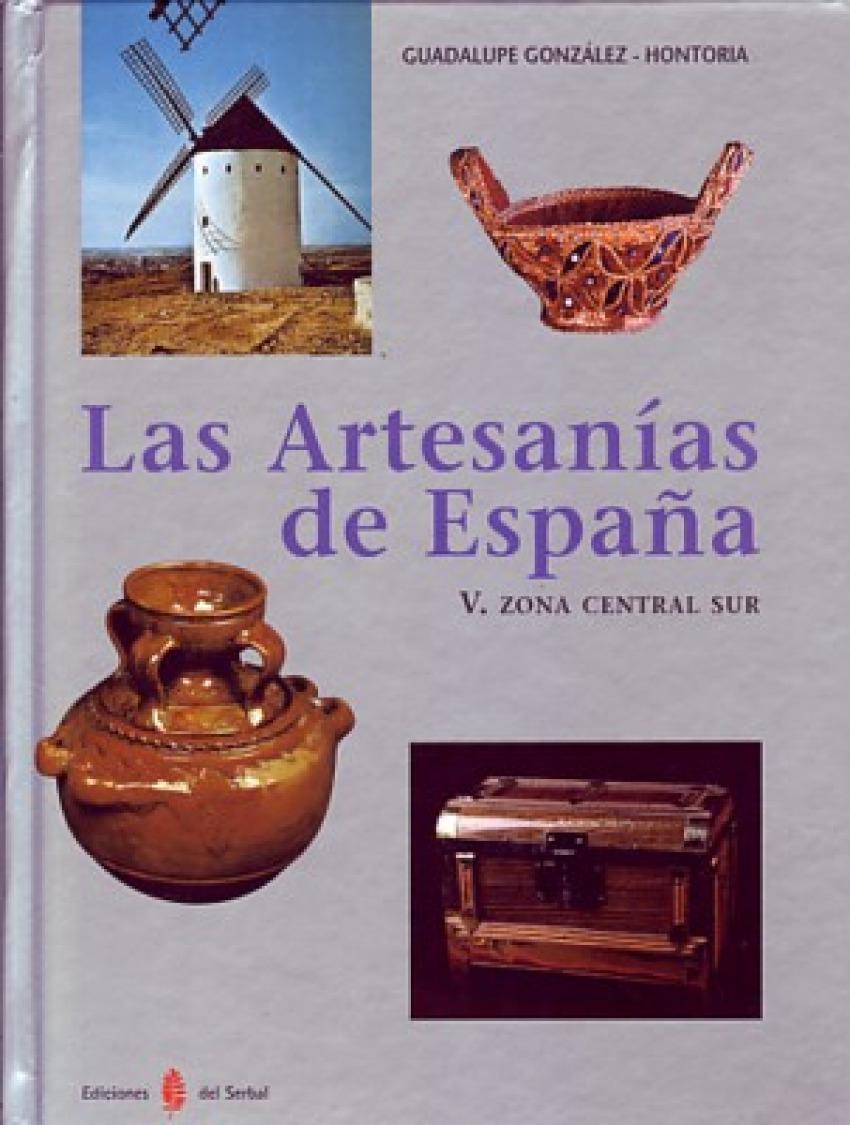 Las artesanas de España. Tomo V - Gonzalez-hontoria, Guadalupe