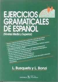 Ejercicios gramaticales de español: Busquets, L.